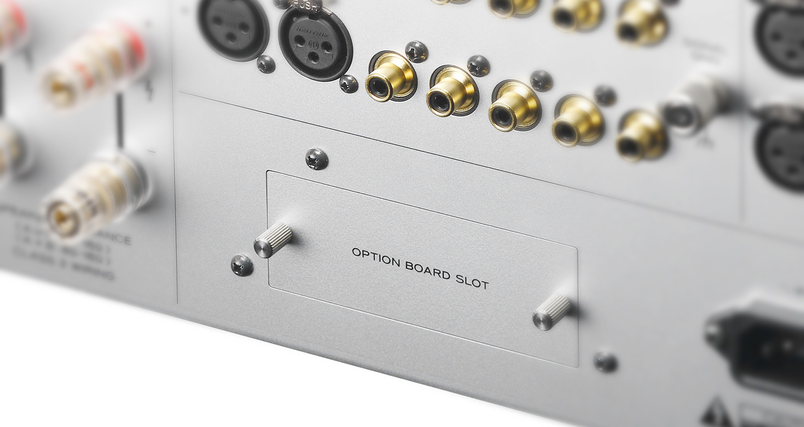 Esoteric F-03A Integrated Amplifier Made In Japan F-03a_option_board_slot