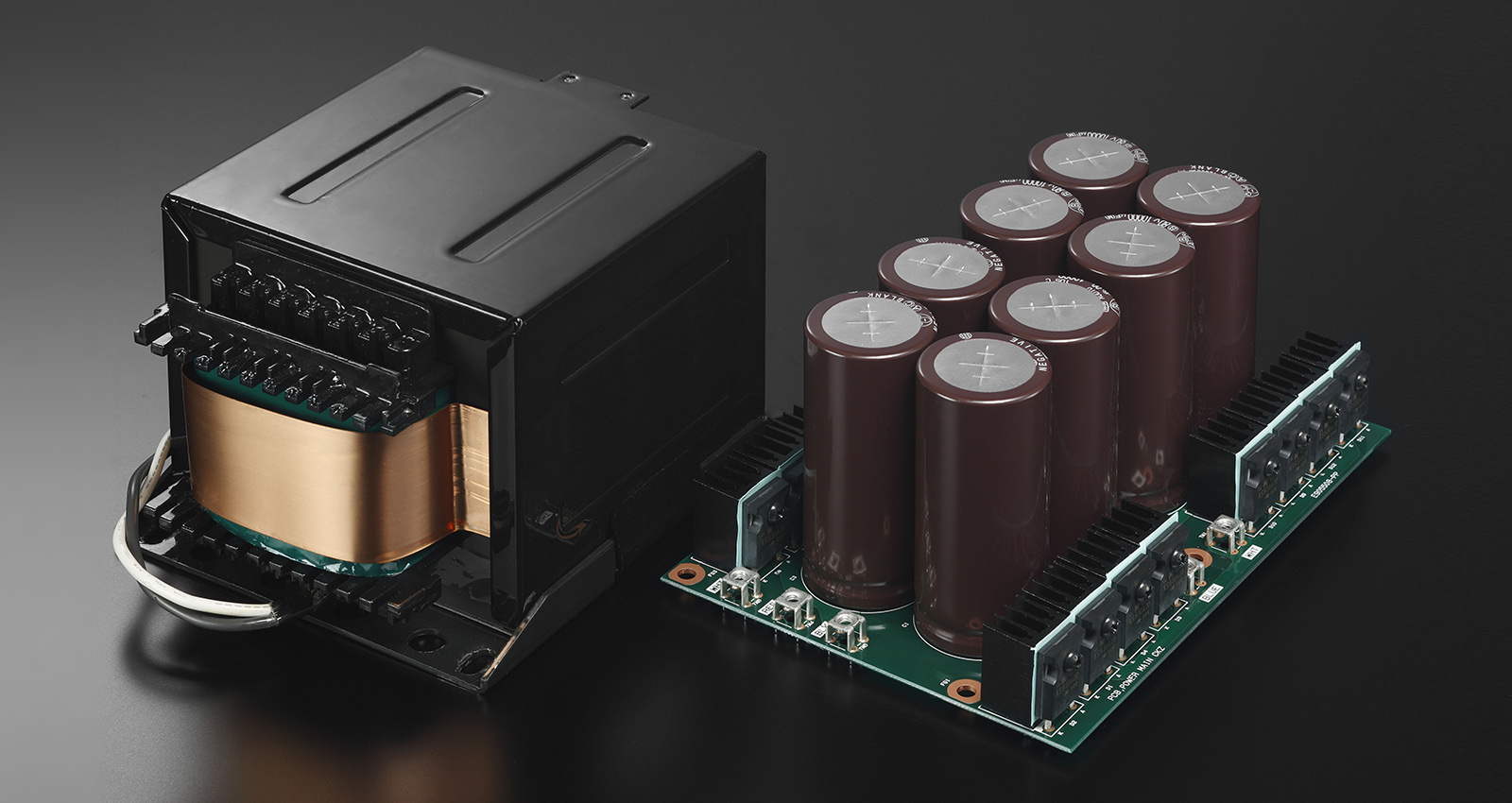 Esoteric F-03A Integrated Amplifier Made In Japan F-03a_power_supply
