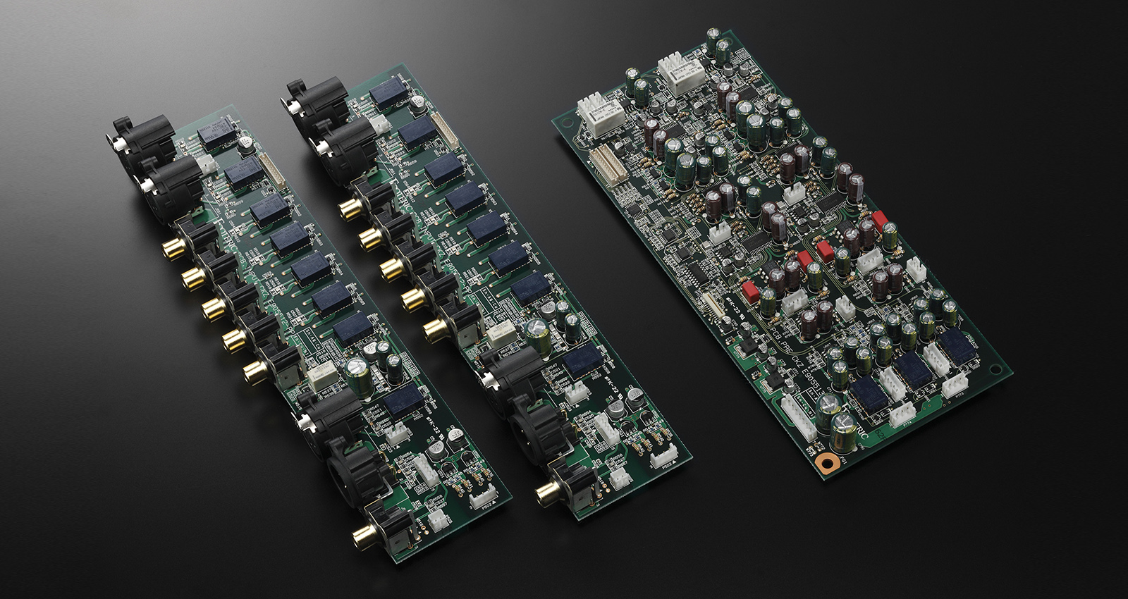 Esoteric F-03A Integrated Amplifier Made In Japan F-03a_preamp_pcbs