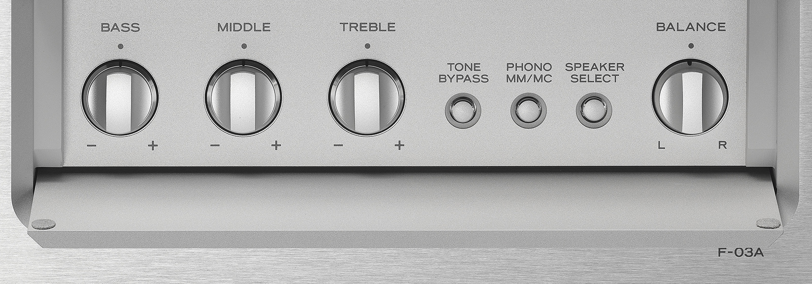 Esoteric F-03A Integrated Amplifier Made In Japan F-03a_tone_control