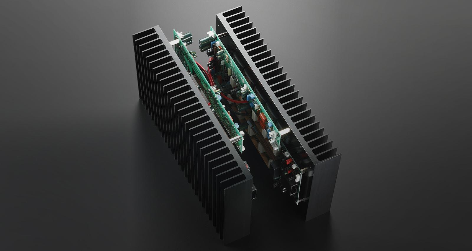 Esoteric S-02 Stereo Power Amplifier Made In Japan S-02_heatsink